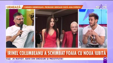 Irinel Columbeanu, ipostaze inedite alături de iubita tinerică! Cum se comportă milionarul în public