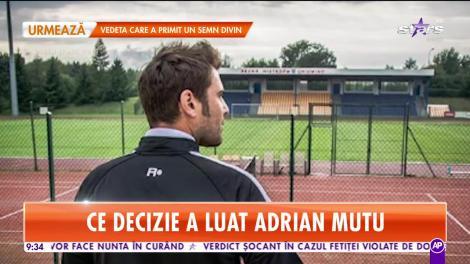 Sport - Star Matinal: Adrian Mutu este noul selecționer al României U21!