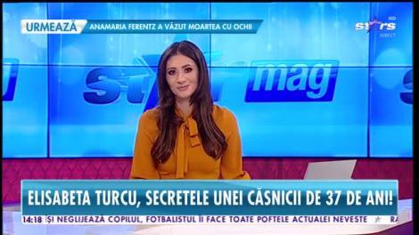 Star News. Elisabeta Turcu, secretele unei căsnicii de 37 de ani
