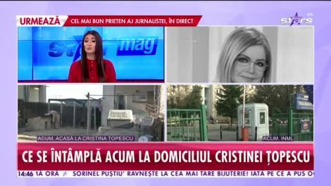 Star News. Ce s-a întâmplat cu Cristina Ţopescu în ultimele săptămâni de viaţă. Filmul morţii celebrei jurnaliste