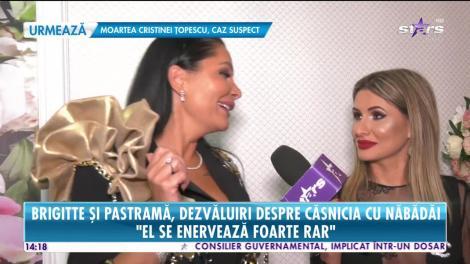 Star News. Brigitte şi Florin Pastramă, dezvăluiri despre căsnicia lor: Am stat despărțiți cinci zile