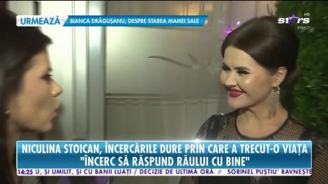 Star News. Niculina Stoican, despre perioadele mai puţin plăcute din viaţa ei: Încerc să răspund răului cu bine