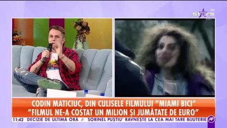 Star Matinal. Trailerul filmului românesc Miami Bici. Totul despre cel mai important proiect al lui Codin Maticiuc din 2020