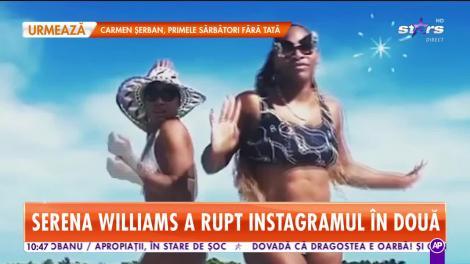 Star Matinal. Serena Williams, clip de senzație în costum de baie