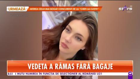 Star Matinal. Cristina ICH, în lacrimi pe aeroport. Vedeta a rămas fără bagaje