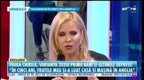 Paula Chirila, varianta 2020! Cu cine a petrecut noaptea dintre ani, tocmai în Anglia