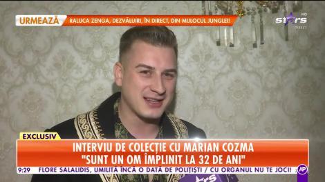 Star Matinal. Dorința lui Marian Cozma: Îmi doresc un spectacol la Sala Palatului