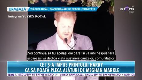 Star News. Prințul Harry, adevărul despre retragerea din Casa Regală britanică. Ducele de Sussex a fost nevoit să renunţe
