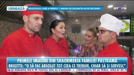 Star News. Primele imagini din shaormeria familiei Pastramă