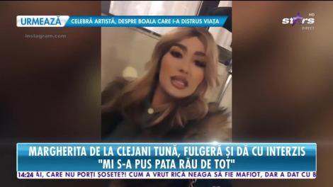 Margherita de la Clejani tună şi fulgeră!