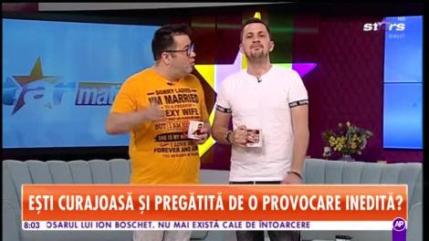 """Roxana, pisicuța sexy de la Star Matinal, show periculos de fierbinte! Flick: """"Să vezi ce pun bărbații faianță acasă"""""""