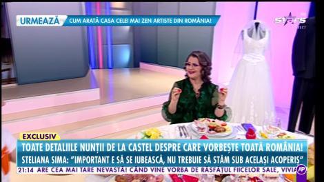 """Răi Da Buni. Steliana Sima, totul despre nunta băiatului ei: """"Nu trebuie să stăm sub același acoperiș"""""""