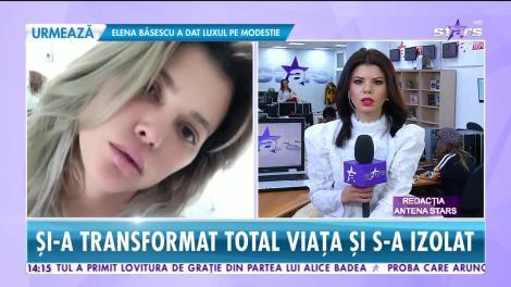 Star News. După despărțirea de Cristi Borcea, Alina Vidican și-a transformat total viața și s-a izolat