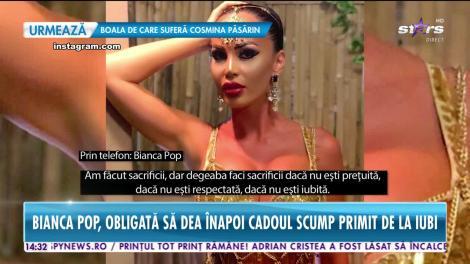 Star News. Bianca Pop, lăsată de iubit fără 16.000 de euro