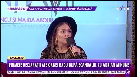 """Oana Radu și Adrian Minune, în scandal! Ce s-a întâmplat. """"Probabil că dorea să îl întreb câți bani vrea"""""""