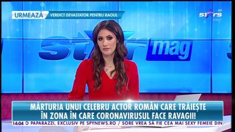 Star News. Mărturia actorului român care trăieşte în zona din China unde coronavirusul face ravagii