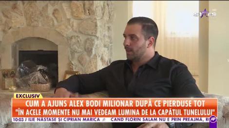 Antena Stars, prima televiziune care intră în casa lui Alex Bodi!