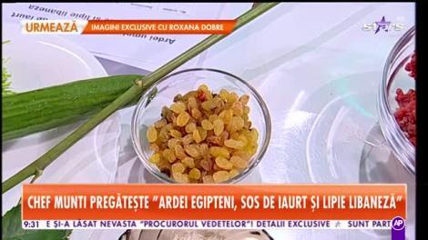 Reţeta lui Chef Munți - Star Matinal: Ardei egipteni, sos de iaurt și lipie libaneză