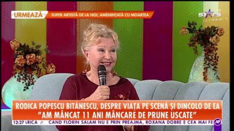 Rodica Popescu Bitănescu, energie unică la cei 81 de ani! Dezvăluiri despre viața pe scenă și în afară ei!