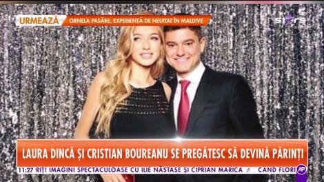 Star Matinal. Laura Dincă şi Cristian Boureanu se pregătesc să devină părinți