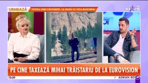 """Mihai Trăistariu, foc și pară pe Eurovision: """"Nu se face așa ceva!"""". Artistul va participa a 11 oară la concurs, dar pentru altă țară"""