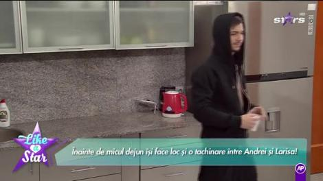 Like a Star! Andrei și Larisa, tachinări în bucătărie: Ești geloasă. Altă explicație nu am
