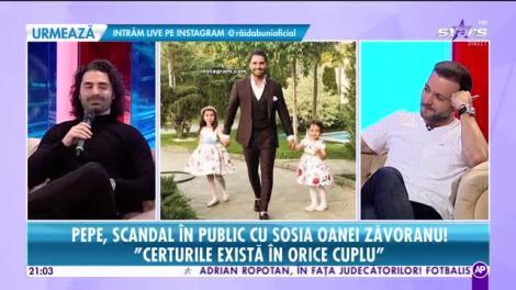 Rai da buni. Pepe, scandal în public cu sosia Oanei Zăvoranu: Nu pot să spun că am relația și familia perfectă