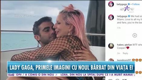 Au apărut primele imagini cu Lady Gaga şi noul ei iubit