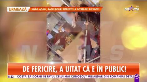 Star Matinal. Ce a făcut Andreea Bălan în public