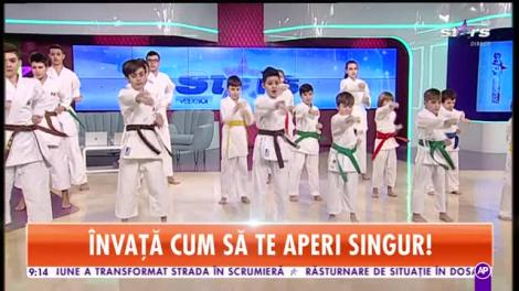 Frații Cheleș, demonstrație spectaculoasă de karate!