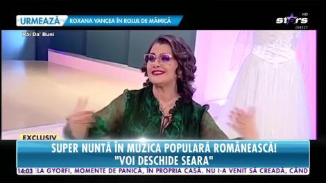 Star News. Super nuntă în muzica populară românească. Steliana Sima își însoară băiatul