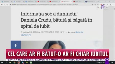 Star Matinal. Primele imagini cu Daniela Crudu pe patul de spital. Vedeta ar fi fost bătută de iubit
