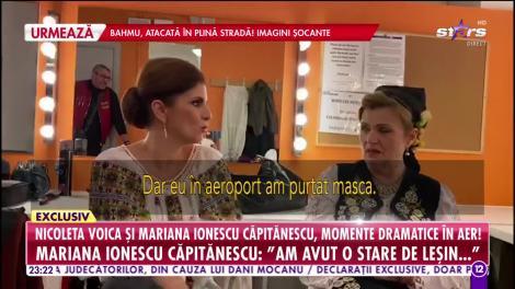 Nicoleta Voica şi Mariana Ionescu Căpitănescu au trăit momente dramatice! Avionul în care se aflau a fost la un pas să se prăbuşească!