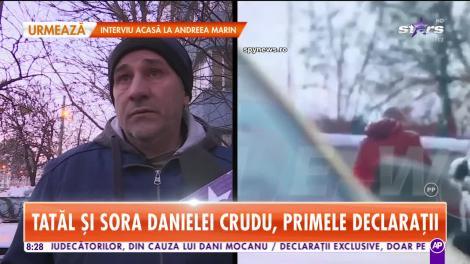 Star Matinal. Sora şi tatăl Danielei Crudu, primele declarații după ce bruneta a fost bătută de iubit