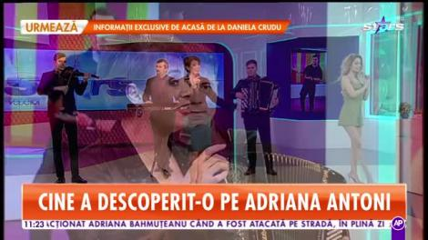 Star Matinal. Adriana Antoni cântă melodia Noi ne iubim