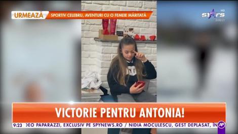 Star Matinal. Primele imagini cu fiica Antoniei în România