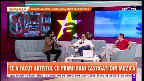 Star Matinal. Cezar Ouatu, dezvăluiri de la începutul carierei: Făceam vocalize cu femeile. Bărbații râdeau