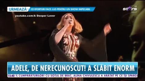 Star News. Adele, de nerecunoscut! Artista a slăbit enorm