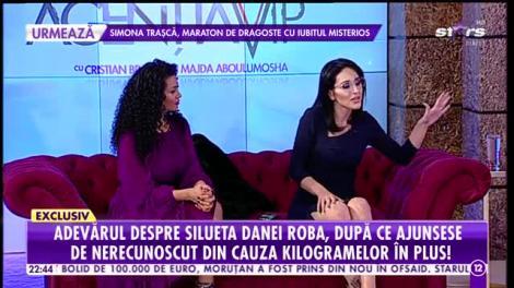Agenția Vip. Adevărul despre silueta Danei Roba, după ce ajunsese d nerecunoscut din cauza kilogramelor în plus
