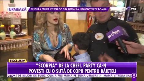 Agenția Vip. Amalia Bellantoni, party ca-n povești cu o sută de copii pentru băiețelul ei