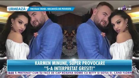 Star News. Karmen Minune, adevărul despre zvonurile legate de despărţirea de soţul ei