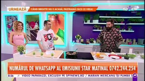 Reţeta lui Chef Berry - Star Matinal: Piept de rață