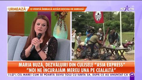 Maria Buză, dezvăluiri din culisele Asia Express - Drumul Comorilor: A fost foarte greu