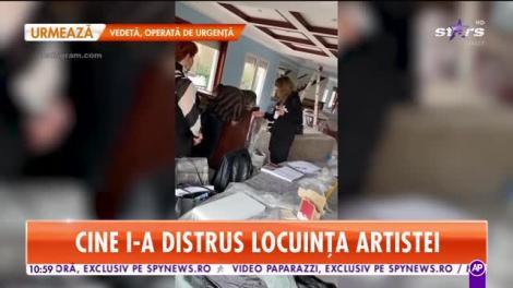 Star Matinal. Anna Lesko a pierdut mii de euro din cauza unor muncitori neprofesionişti
