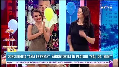 Maria Buză, sărbătorită în platoul Răi da Buni!