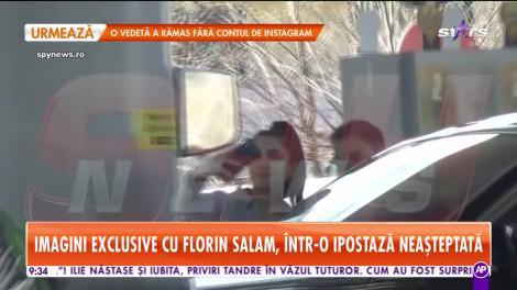 Star Matinal. Florin Salam a fost surprins în brațele altei femei!