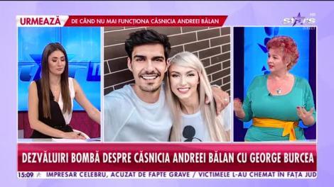 Dezvăluiri bombă despre căsnicia Andreei Bălan cu George Burcea! Ce spune Cristi Brancu despre divorţul dintre ei