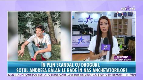 Star News. Soțul Andreei Bălan le râde în nas procurorilor, după ce a fost prins drogat la volan