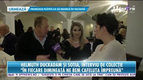 Star News. Helmuth Duckadam şi soţia, interviu de colecție. Înainte de dragoste este respectul dintre noi