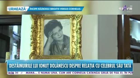După 11 ani, Ionuţ Dolănescu a venit în ţară pentru parastasul tatălui său